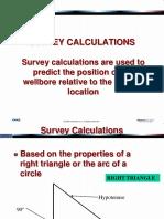 02 Survey Calculations