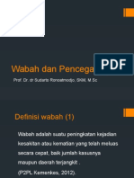 3 Wabah Dan Pencegahan Prof. Sudarto