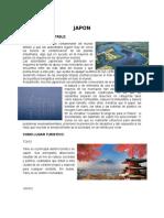 Japon como pais sustentable