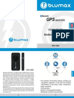 GPS Blumax Receiver Manual