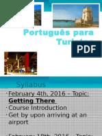 Aula Português para Turistas 4fev