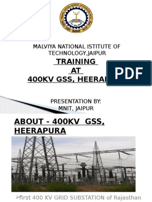 heerapura presentation | Electrical Substation | Insulator