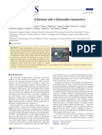 Rapid Identification of Bacteria With a Disposable Colorimetric