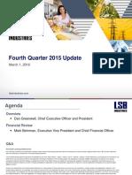 Q4 2015 Earnings Presentation Final