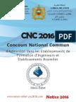 Notice Cnc 2016