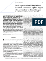 automated blood vessel segemntation using infinte perimeter active contour using hybrid region with application to retinal imges