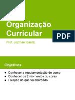 Organização Curricular - Redes de Computadores