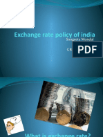 Exchange Rate Policy of India