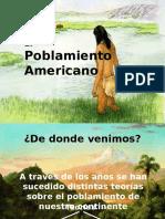 Poblamiento Americano