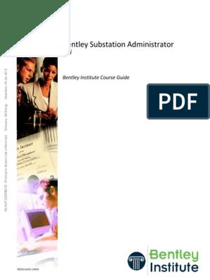 Bentley Substation Administrator V8i TRN016050 1