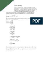Trigonometry - Proving