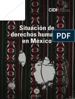 Situación de Derechos Humanos en México CIDH
