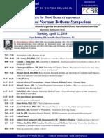 Norman Bethune 2016 Program