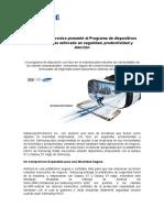 Programa de Dispositivos Para Empresas Enfocado en Seguridad, Productividad y Eleccion - Samsung