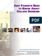 18  what parents need to know about college drinking