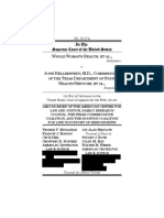 Whole Womans Health v. Hellerstedt No. 15 274 American Center for Law and Justice Et Al. Amicus Brief as Filed Redacted