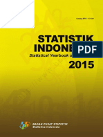 Statistik Indonesia 2015
