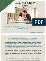El Sacramento Matrimonial 1