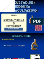 Sistema Tisular o Histologia
