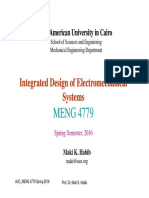 Lecture 0 MENG 4779 Course Outline Spring 2016