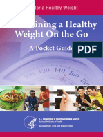 12  maintaining a healthy weight on the go