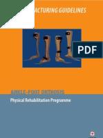 Prosthetics and Orthotics Manufacturing Guidelines