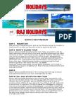 Itinerary of Mauritius
