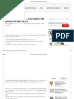 Contabil Incepator – Informatii Utile Pentru Inceput de an