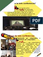 diapositivas teleconferencia