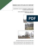 Sturbridge Reconnaissance Report