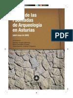 Actas de las I Jornadas de Arqueología en Asturias