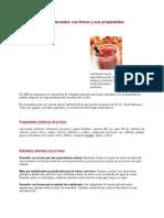Jugos y Licuados Con Fresas y Sus Propiedades
