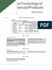 Toxicology of Fluoride