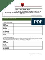 Formulari i Dekriminalizimit