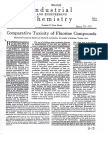Industrial Chemistry, Fluoride 1934