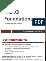 ITIL v3 01 Fundamentos
