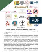 160302 CARTA PÚBLICA_OSC Nacionales e internacionales exigimos Libertas para Nestora Salgado