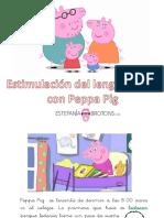 Estimulacion Del Lenguaje Oral Con Peppa Pig