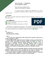 Legea 272-2004 Republicată Şi Reactualizată