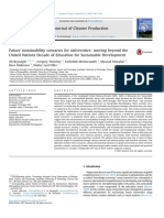 Future sustainability scenarios for universities, moving beyond the United Nations Decade of Education for Sustainable Development.pdf