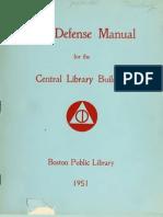 Civil Defense Library Program (1951)
