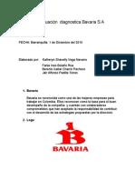 Evaluacion  Diagnostica  Bavaria S.A