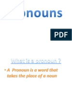 a pronoun is a word that replaces a noun in a sentence pronoun noun
