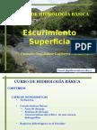 Curso Hidrología Cuencas Hidrográficas Escurrimeinto Superficial