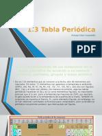 1.3 Tabla Periodica