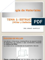 ESTRUCTURAS (Miller-Defectos-difusión) Tec d Materiales 2003