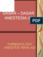 2. Dasar – Dasar Anestesia