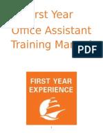 oa training manual 2015-2016