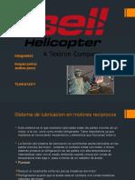 Sistema de Lubricacion de motor de aviacion