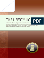 The Liberty License